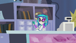 DJ Pon-3 in the music store EG2