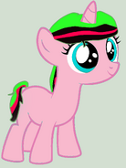 Mlp base unicorn filly by bases 4 bronies-d5s7oeu