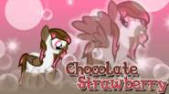 Choco Straw Wallpaper