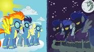 Wonderbolts vs shadowbolts by capt nemo-d3i8bdx