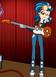Indigo con guitarra