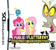 Pinkie y fluttershy dentro de discord