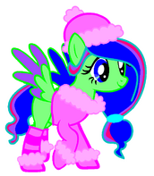 Armonioso Amore con traje de invierno