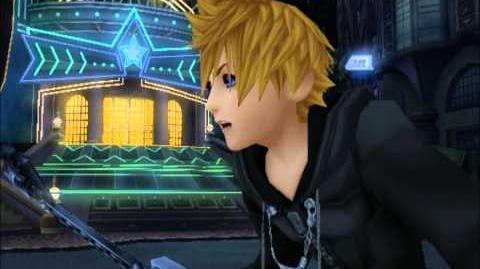 Kingdom Hearts II Riku vs Roxas English Dubbed