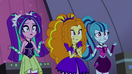 The Dazzlings realizes that they can't sing well EG2