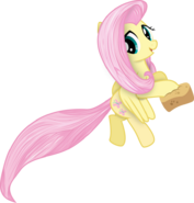 My little pony vector fluttershy in another style by krusiu42-d5tk8z0