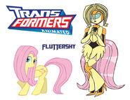 Transformares fluttershy