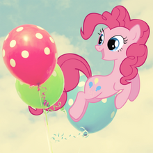 Pinkie Baloons