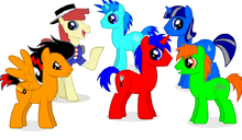 Red Fork y algunos amigos
