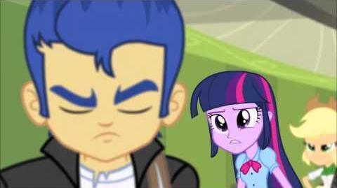 Flash hace llorar a Twilight! - MLP Equestria Girls Rainbow Rocks -Español Latino-