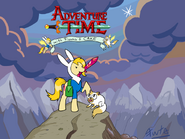 Mlp adventure time with fionna and cake by fuutachimaru-d4uvmx3