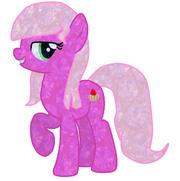 Pink Shortcake como Pony de Cristal