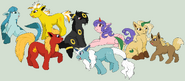 My little eeveelutions by edward elric32-d4g08jx
