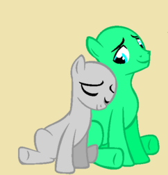 Base 4 earth pony couple by diamondponyartist-d67i0k6