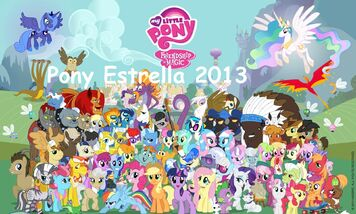 My Little Pony Frienship is Magic Comic Con 2011 poster