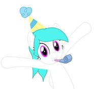 Cotton Heart - Hppy Birthday