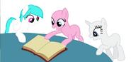 Cotton Heart - coballt - reading a book - mane3