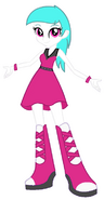 Cotton Heart Equestria Girls - is time for a Party!