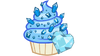 Sapphire cupcake vector by totalcrazyness101-d4vstu8