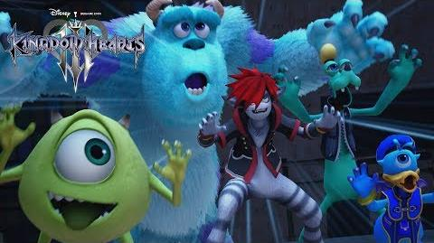 KINGDOM HEARTS III – D23 Expo Japan 2018 Monsters, Inc. Trailer multi-language subs-1529441816