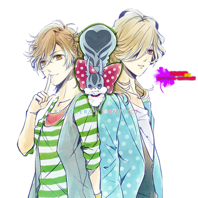 Brothers conflict render by saintseiya sanctuary-d6g9bpx