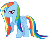 Rainbow Dash Rain