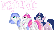 Amigas ponis
