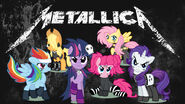 Metallica ponies wallpaper by bigmacintosh7-d4w0vr5