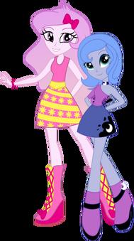 Luna y Celestia jovenes