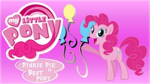 Wallpaper pinkie pie is best pony by barrfind-d5rk33w