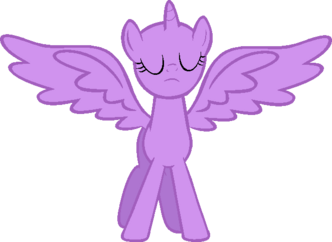 Base alicorn mode activated by ask spider blare-d5whcvr