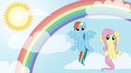 Rainbow dash fluttershy wall by starboltpony-d3du3z0
