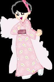 Hirohisa Eg Kimono Dress ByTZC