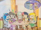 Equestria girls background characters by bluek9-d8zwrt6