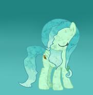Teedy blue crystal