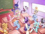 My-little-pony-mlp-art-mane-6-minor-508578