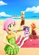 Eqg beach upload by kelsea chan-dagfiy4