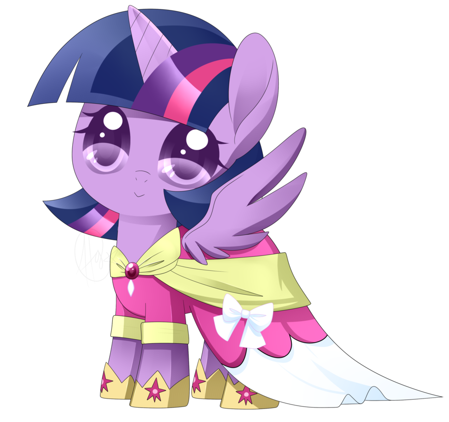 Mlp Chibi Princess Twilight Sparkle By Haydee