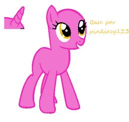 Base Con Unicornio Opcional By Pinkieshy123