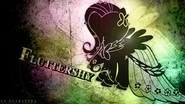 Fluttershy monochrome grunge wallpaper by dignifiedjustice-d4jnc4v