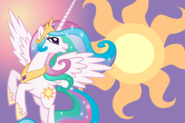 Princess celestia wallpaper by luuandherdraws-d4rpykr