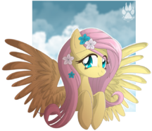 Animu fluttershy by nabbiekitty-d489v1w