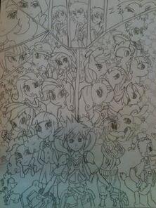 Kingdom hearts equestria saga remastered by xrosbrony-d8hqjz7