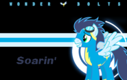 Wonderbolts wallpaper soarin by l13000-d4p8lqh