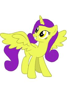 Princess Gold Wing