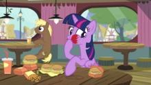 Twilight Sparkle -I didn't realize how hungry- S4E15 (1)
