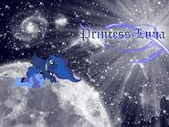 Luna and Woona Wallpaper