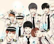 BTS fan art