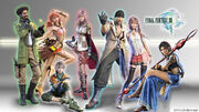 Final fantasy xiii wallpaper by hellydesign