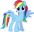 Rainbow dash always brushies with style by theshadowstone-d6lmdvk